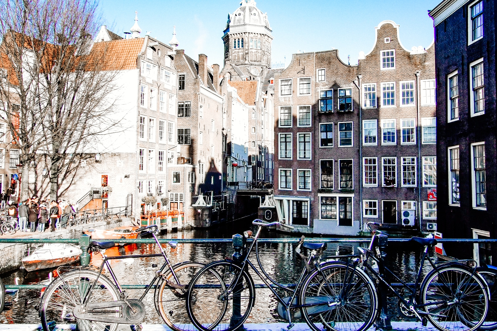Amsterdam Bikes and Canals