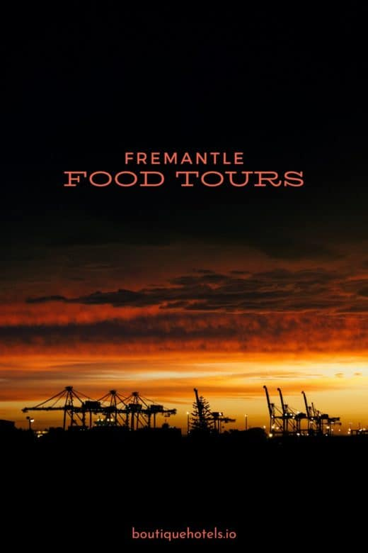 Fremantle Port at Sunset