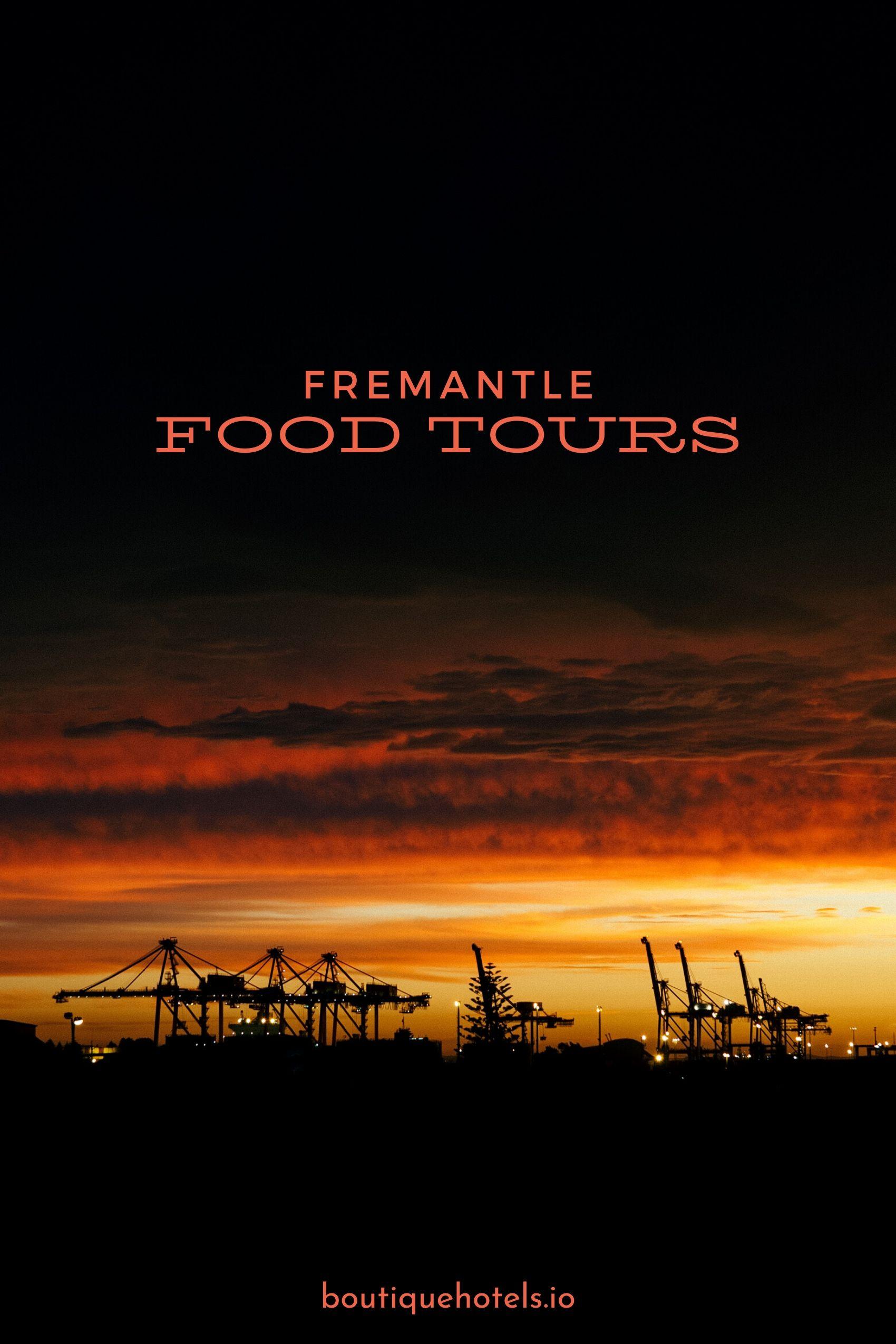 Fremantle Port at Sunset